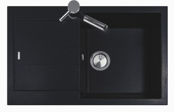 Sinks Sinks AMANDA 780 Metalblack + Sinks MIX 3 P - 74 Metalblack