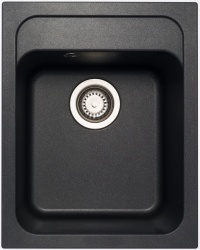 Sinks Sinks CLASSIC 400 Metalblack + Sinks MIX 35 - 74 Metalblack