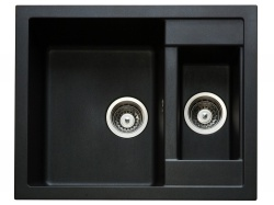 Sinks Sinks CRYSTAL 615.1 Metalblack + Sinks MIX 35 - 74 Metalblack