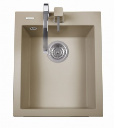 Sinks Sinks CUBE 410 Truffle + Sinks MIX 35 - 54 Truffle