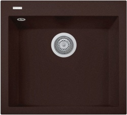 Sinks Sinks CUBE 560 Marone + Sinks CAPRI 4 - 93 Marone