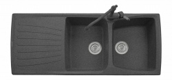 Sinks Sinks MATIS 1184 DUO Granblack + Sinks MIX 35 - 30 Granblack